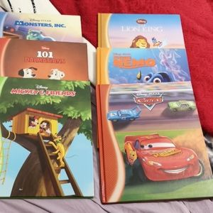 Set of 6 Disney Hardcover books
